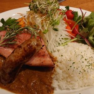 西都賀の新店、クリスタルヒーリングカフェに早くも再訪! 丼メニューが早くも増加するも、肉盛り沢山カレーの魅力には勝てなかった