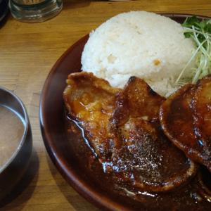 千葉・栄町の新店 カロリーキッチンで頂く、ご飯が進む最強オカズ!! 最強過ぎるスタミナ食、ロースニンニク焼き定食を食べてみた