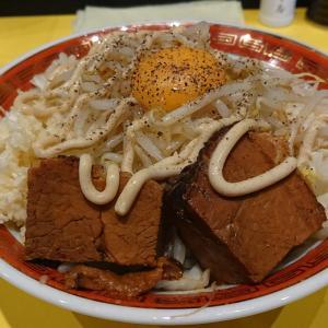 千葉駅から徒歩3分の二郎系ラーメン、ロケットパンチを初訪問 ブッ飛ぶ美味さ!?の『汁なしまぜそば』