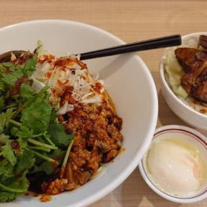 みつわ台の二郎インスパイア店、らー麺 だるまで頂く夏季限定メニュー パクチー満載の冷やし担々麺