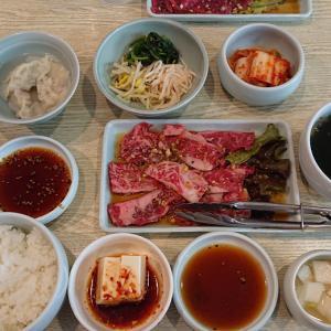 西千葉駅前の焼肉店、昌慶苑をランチ訪問 水餃子にナムルも付いたランチ焼肉御膳に冷麺も堪能