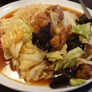 西千葉駅前の老舗中華、北京亭 中華料理店ならではの逸品、ヒヤアツ効果で美味さ倍増の鳥野菜冷やし麺