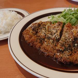 京成みどり台駅近くの洋食屋さん ダイニングカーサ 自家製デミソースが染み渡る、絶品牛カツレツランチ