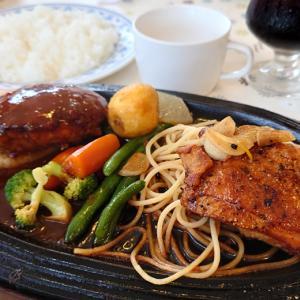 若葉区小倉町のレストラン、ペリカン 何を食べてもハズレ無しの絶品洋食は、ハンバーグ&若鶏ステーキも完璧だった