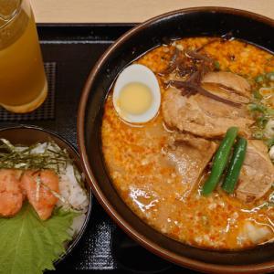 美浜区幸町の博多ラーメンふくちゃん 高菜に明太子ら乗せ放題が嬉しい太肉麺&めんたいご飯