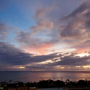 ホノルルの空と海 2019年