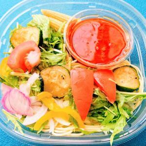 セブンイレブンの6品目野菜とトマトソースの冷製パスタ♡