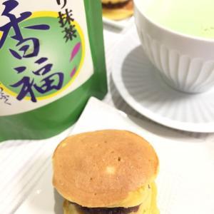 香福レシピ 抹茶ラテ&どらやき