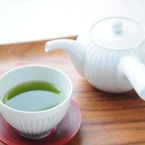 梅雨の朝茶