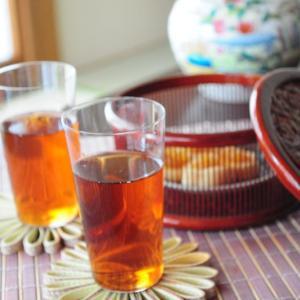 アジアンテイストでほうじ茶time