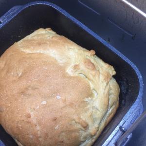 あまった抹茶ラテでパンを焼いてみたよ