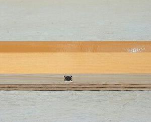 板はぎ用ダボ治具の作成