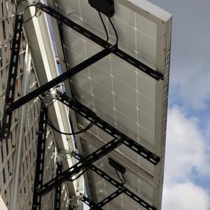 太陽光パネル架台の製作