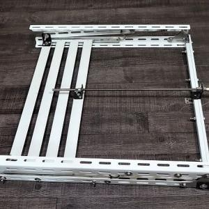 角度調整型太陽光パネル架台の自作