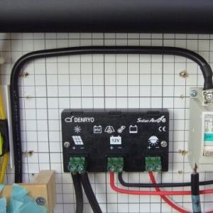 【オフグリッド太陽光発電】故障!チャージコントローラーを交換してみたが