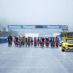 豪雨と濃霧の全日本選手権