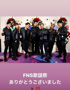 FNS歌謡祭♪