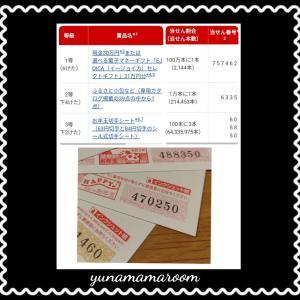 2021(令和3)年用年賀葉書お年玉付年賀切手当選番号と当選結果