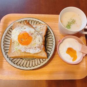 朝ごぱんと朝ケーキ