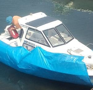 ボート釣りおじさん必見? 係留船の秘密のアソコの巻 見ちゃ、いや~ん^^ 閲覧厳重注意