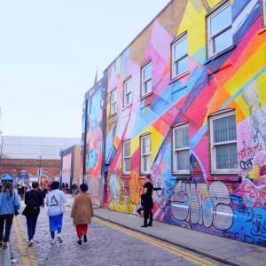 ロンドンのおしゃれな若者の街「ブリックレーン」を散策☆古着屋さんの宝庫