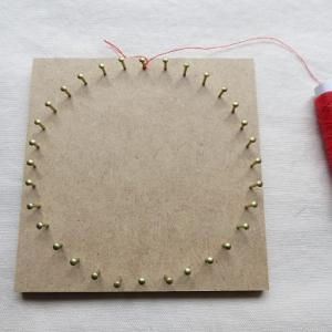 右回転・左回転と糸かけ曼荼羅