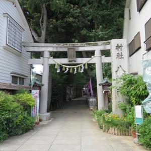 戸越八幡神社の護りおネコ・ミーちゃん(その2)
