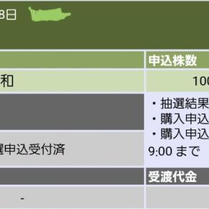 ☆恵和(4251)抽選結果と公募価格