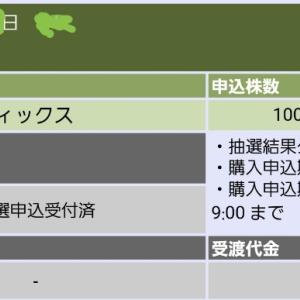 ☆ランディックス(2981)抽選結果と公募価格