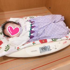 【1m22d】助産師さんの赤ちゃん訪問
