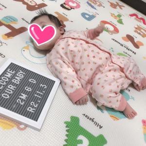 【2m12d】生後2ヶ月、娘がしなくなったこと