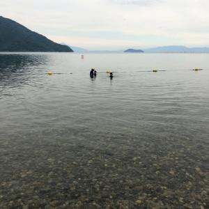 滋賀県奥琵琶湖知内浜でキャンプしてきました~その3