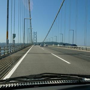淡路島へ!キャンピングカーでのんびり気ままな旅!