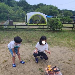 2021年8月❕続編~キャンピングカーで行く淡路島じゃのひれキャンプ場~その2