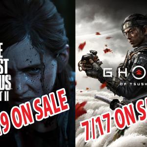 The Last of Us Part II/Ghost of Tsushima 発売日決定!