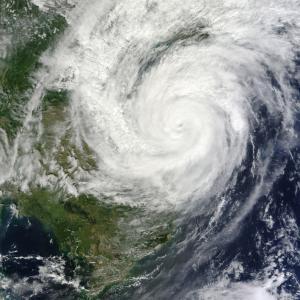 日能研が台風で休校になりました