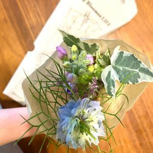 すぐに本申し込みしてしまった、お花の定期便