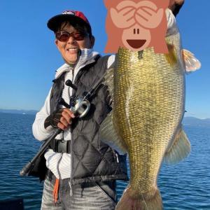 國澤さんと北湖釣行❣️