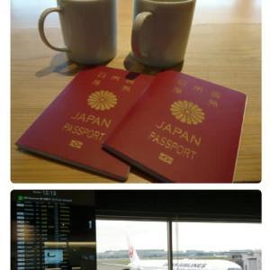 羽田空港から秋旅✈
