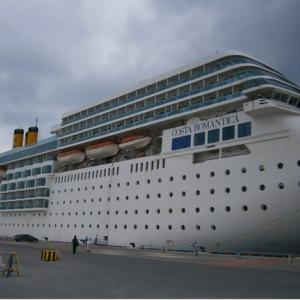 コスタ ネオロマンチカ🚢クルーズ旅行(乗船とお部屋)