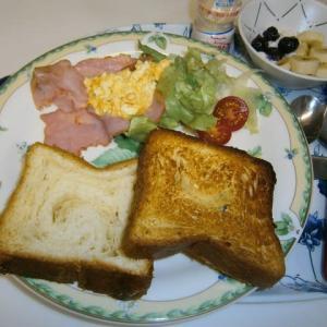 八天堂のとろける食パン(陸酔い中と下船病!?)