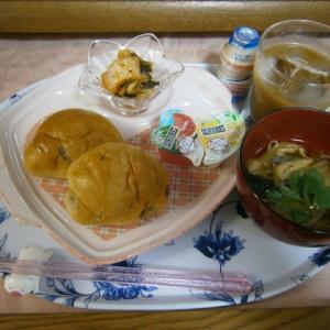 アンバランスなバランス朝食と、不意な買い物(コロナ東京400人超)