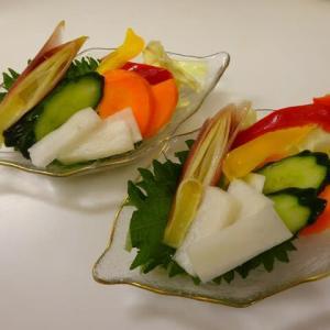 なす肉味噌炒めと野菜のピクルス、関東三大七夕まつり⁉