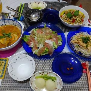 登米のだしでカブ煮と清水屋の東京わらび餅