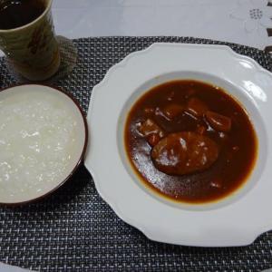 エニマクリンのハンバーグディナー、検査前日の食事
