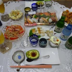 ジーマーミ豆腐と広島のお酒 醉心飲み比べ