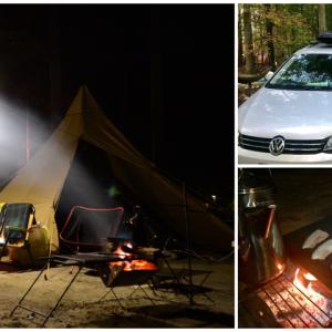 【秋キャンプ】日光だいや川で久々キャンプ!秋は防寒対策を。