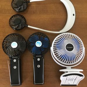 【雑記】夏のアウトドア/扇風機/絶賛、増殖中!