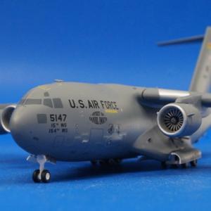 アメリカ空軍 第15航空団 第204空輸飛行隊 パールハーバー・ヒッカム統合基地 C-17 #05-5147