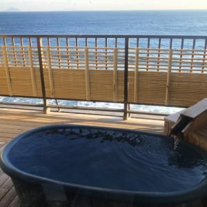伊豆稲取の旅館「湯苑」に4歳と2歳の子連れで宿泊しました